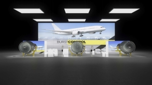 Messestand ILA Air Show Berlin exhibition stand booth trade fair