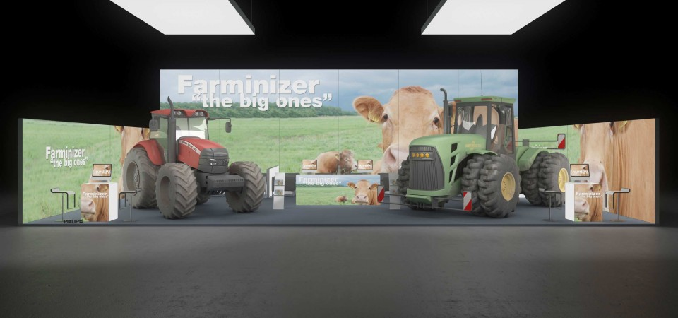 messestand agritechnica hannover exhibition stand booth trade fair