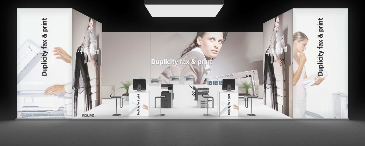 messestand drupa duesseldorf exhibition stand booth trade fair