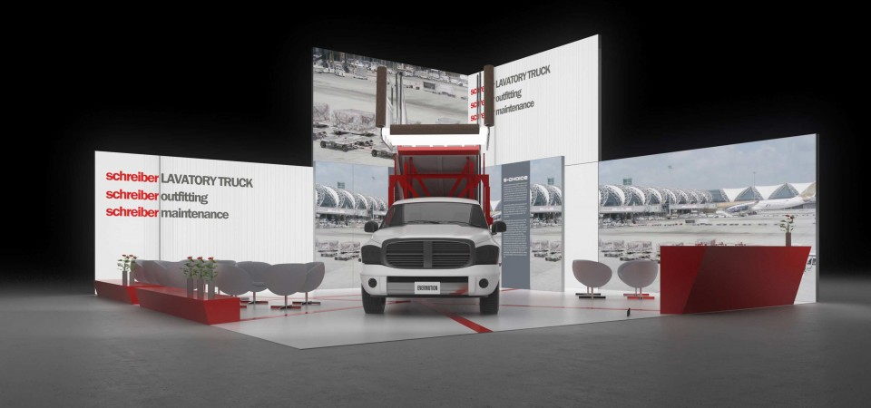 messestand iaa commercial vehicles hannover exhibition stand booth fair trade