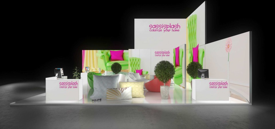 Messestand Heim Handwerk Munich exhibition stand booth trade fair