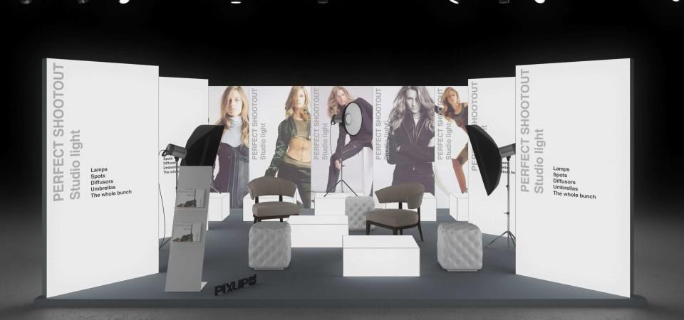 Messestand Photokina Cologne exhibition stand booth fair trade