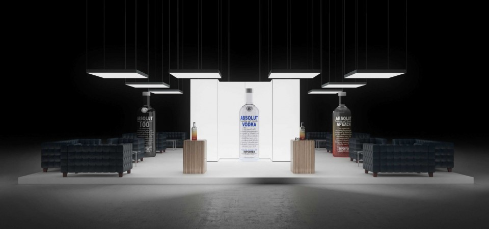 Messestand Christmas Fair and BOTTLE Market Bremen exhibition stand booth trade fair