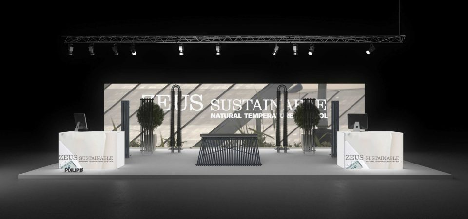 Messestand SHK Essen exhibition stand rental booth trade fair