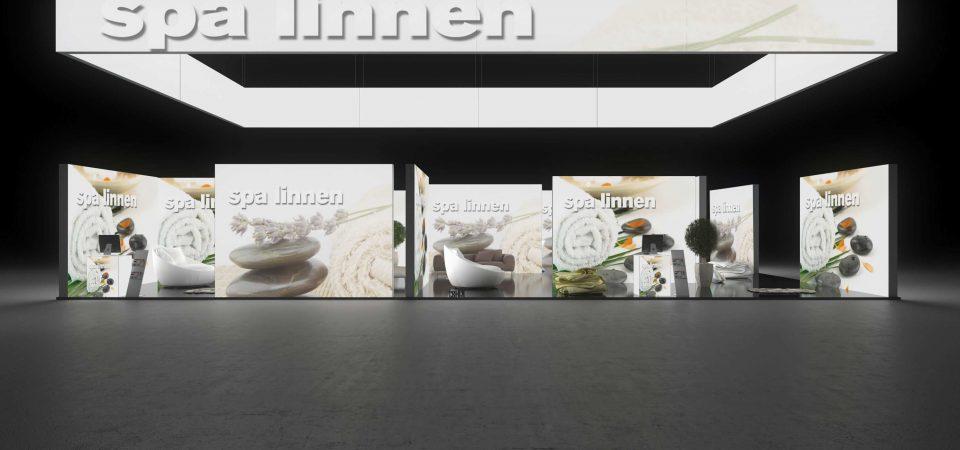 Backlit exhibit system - mtex Chemnitz