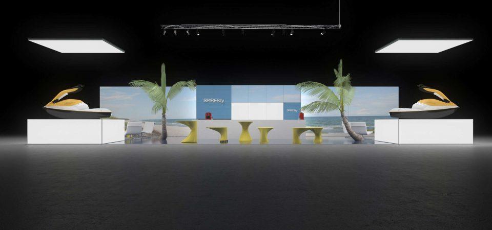 Backlit exhibit system