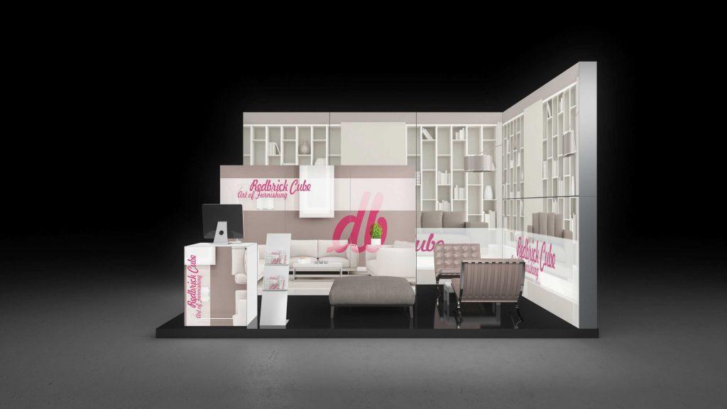 backlit stand holistic health fair saarbruecken pixlip gallery. Black Bedroom Furniture Sets. Home Design Ideas
