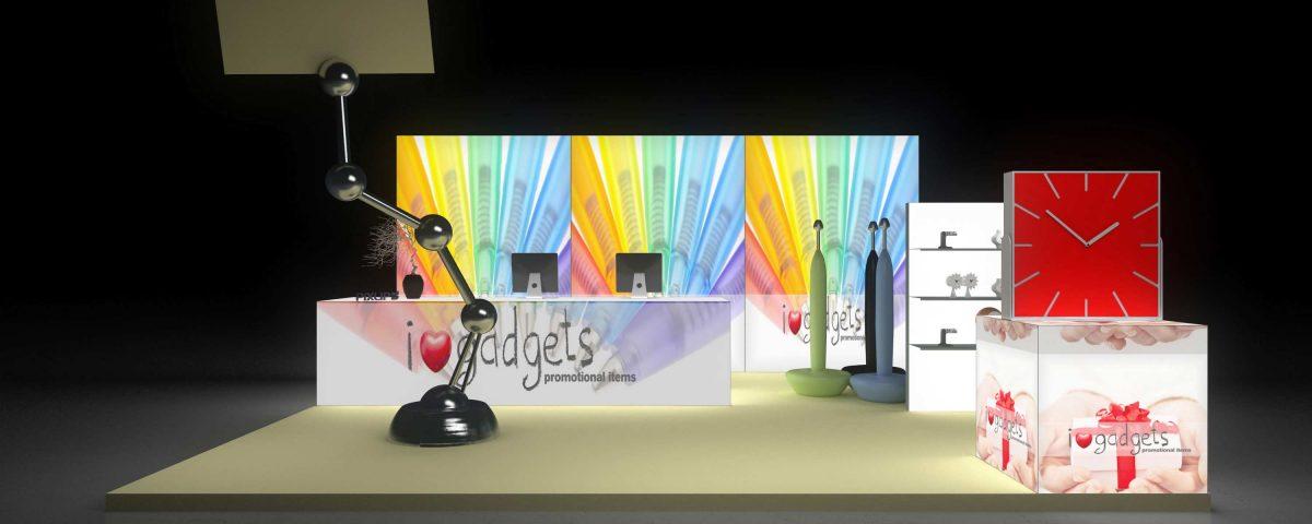 Exhibit booth innovativ - Wedding World Magdeburg