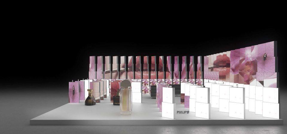 Backlit exhibition booth - Wedding World Nuremberg